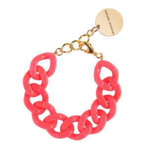 Bracelet Flat Néon Rose