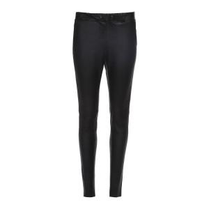Pantalon Karen Cuir Agneau Stretch Noir