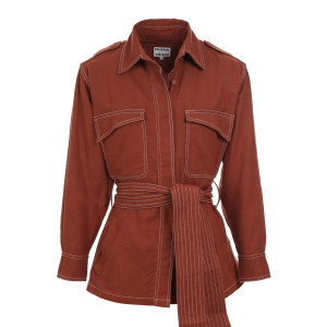 Veste Joe Soie Clay