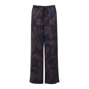 Pantalon Palm Soie Marine