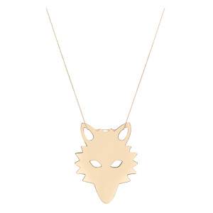 Collier Jumbo Wolf - GINETTE_NY