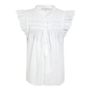 Top Bri Coton Blanc