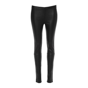 Pantalon Legging Pharel Cuir Noir