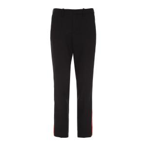 Pantalon Pomelo Bandes Noir Rouge