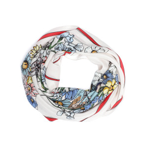 Foulard Lotty ZV Flower Soie Flash