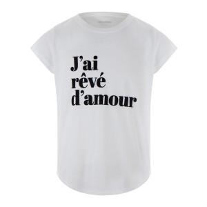 Tee-shirt Woop JRDA Coton Blanc
