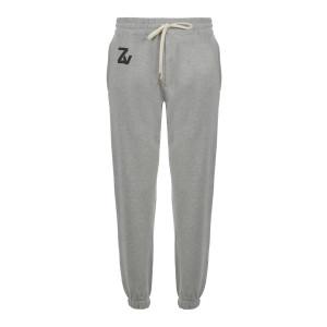 Pantalon Steevy Coton Gris Chiné