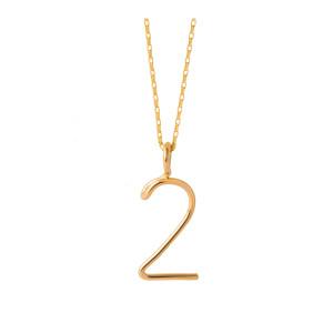 Collier Numérologie Gold Filled