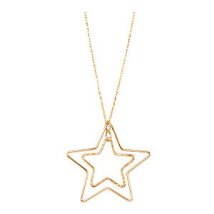 Collier Stardust Étoiles Gold Filled