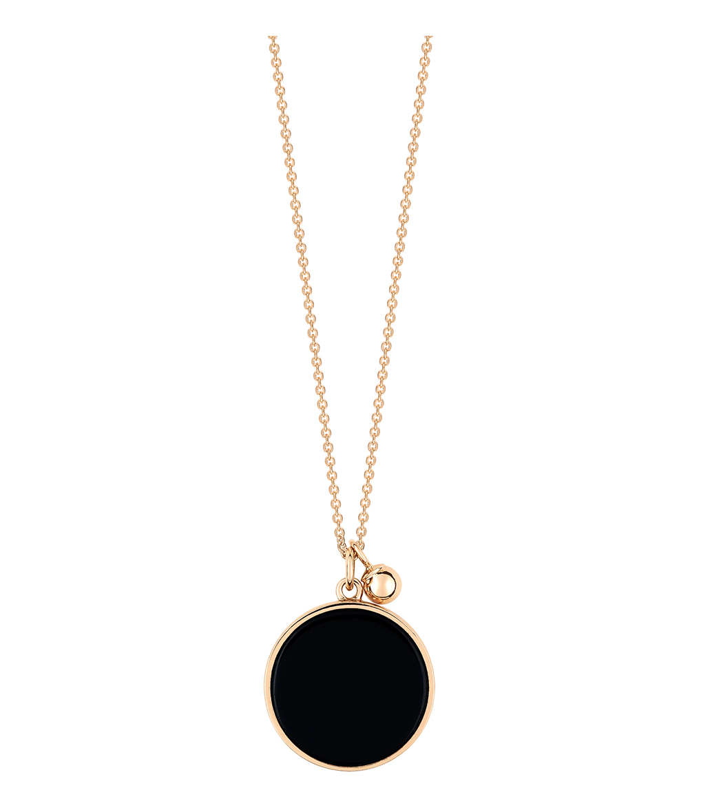 Collier Ever Disc Onyx