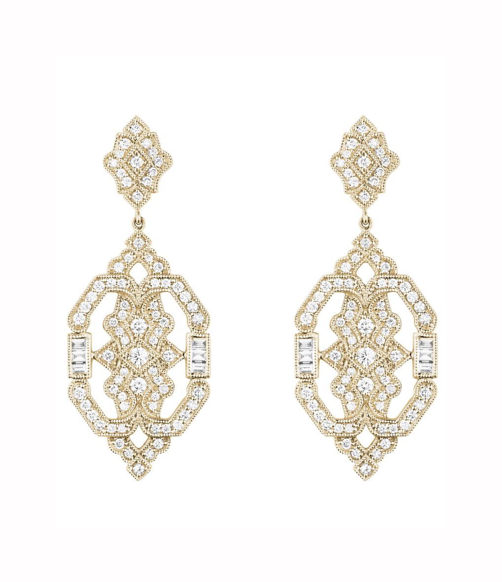 Boucles d'oreilles Garbo Diamants