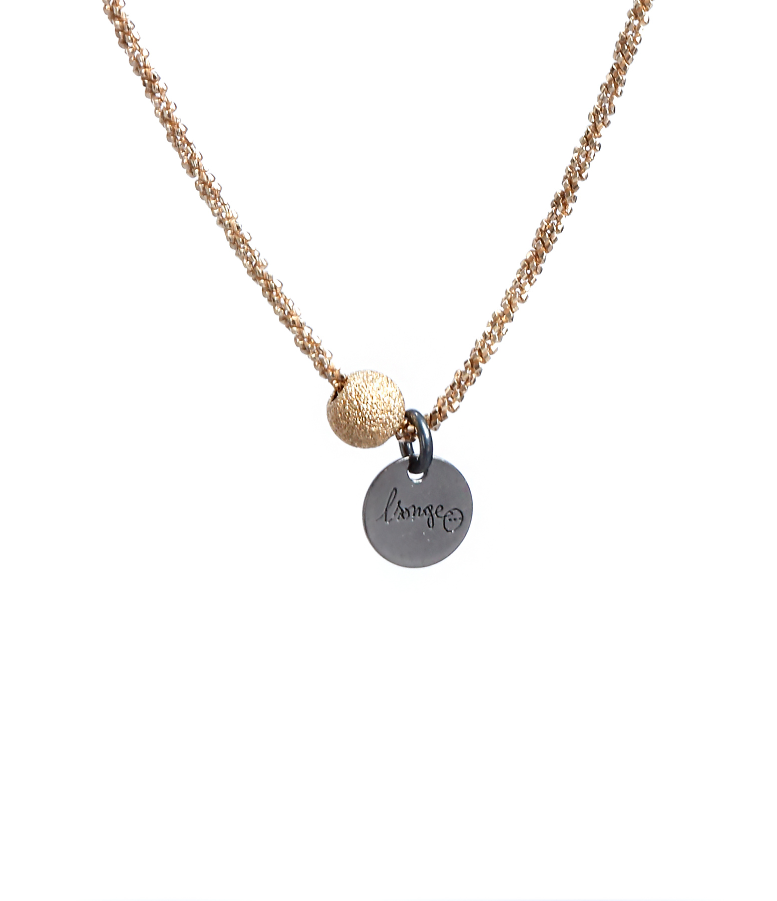 Collier Perle Or Plaqué Or