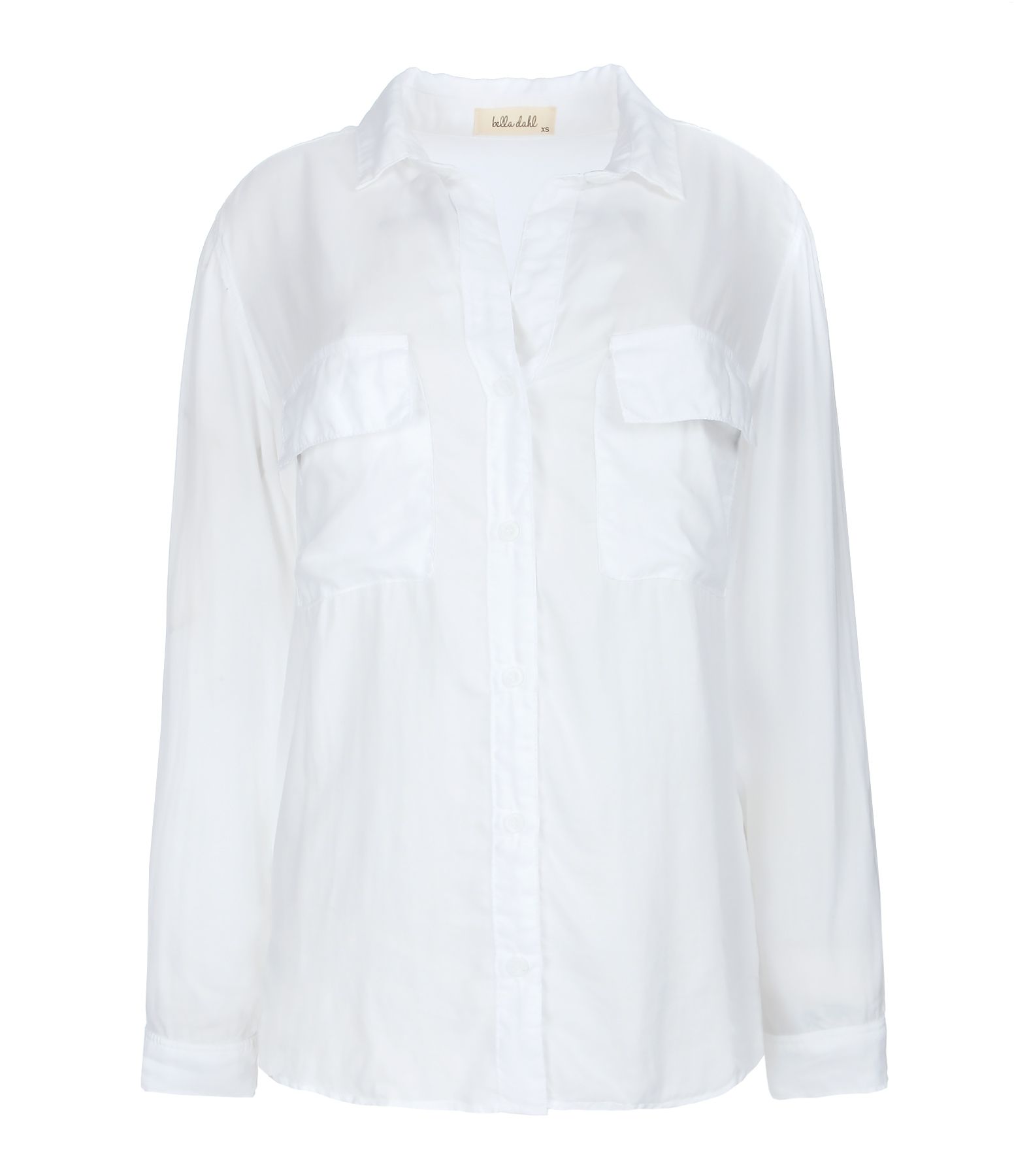 Chemise Patch Pocket Button Down