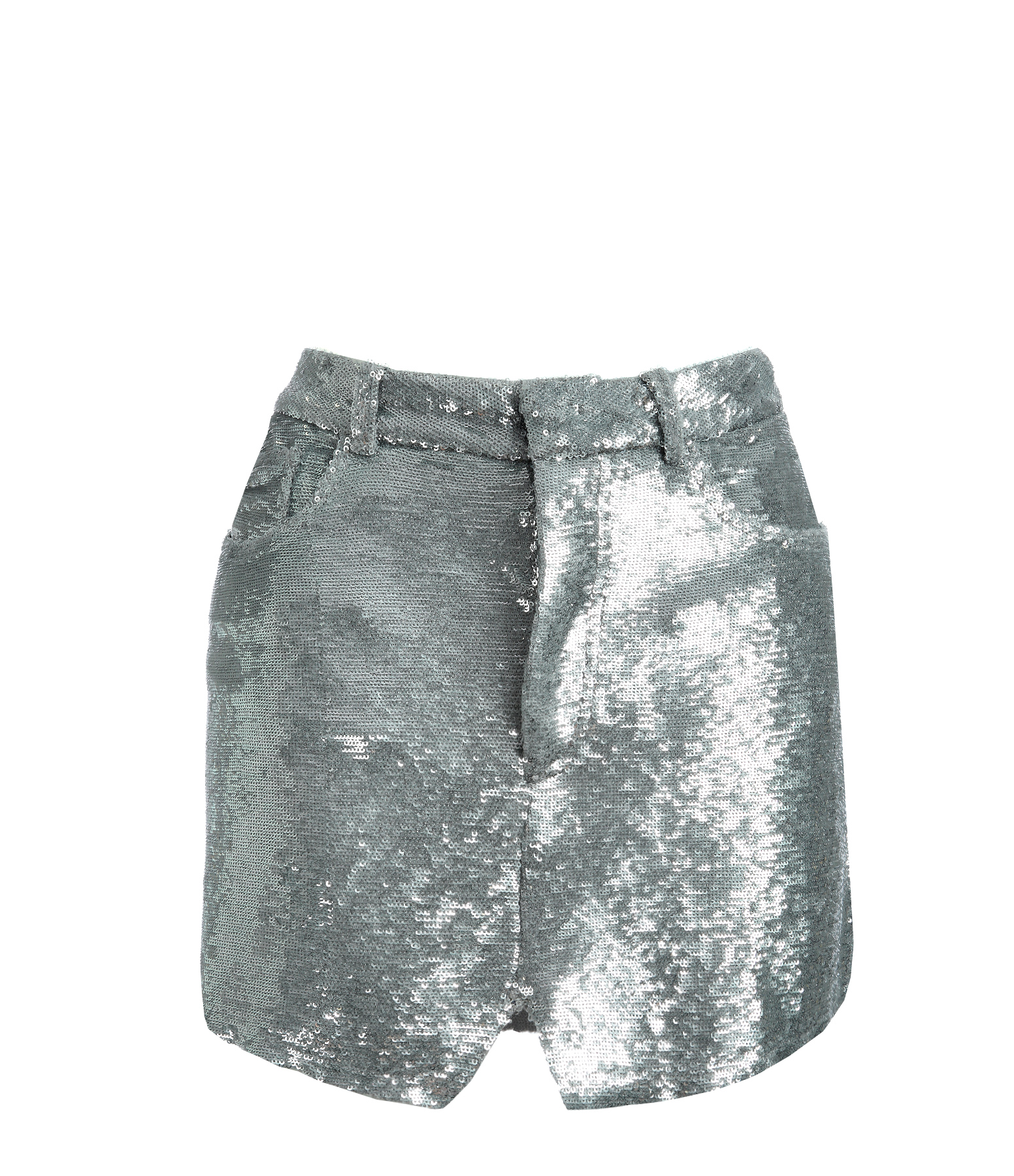 Jupe Obso Sequin Argent