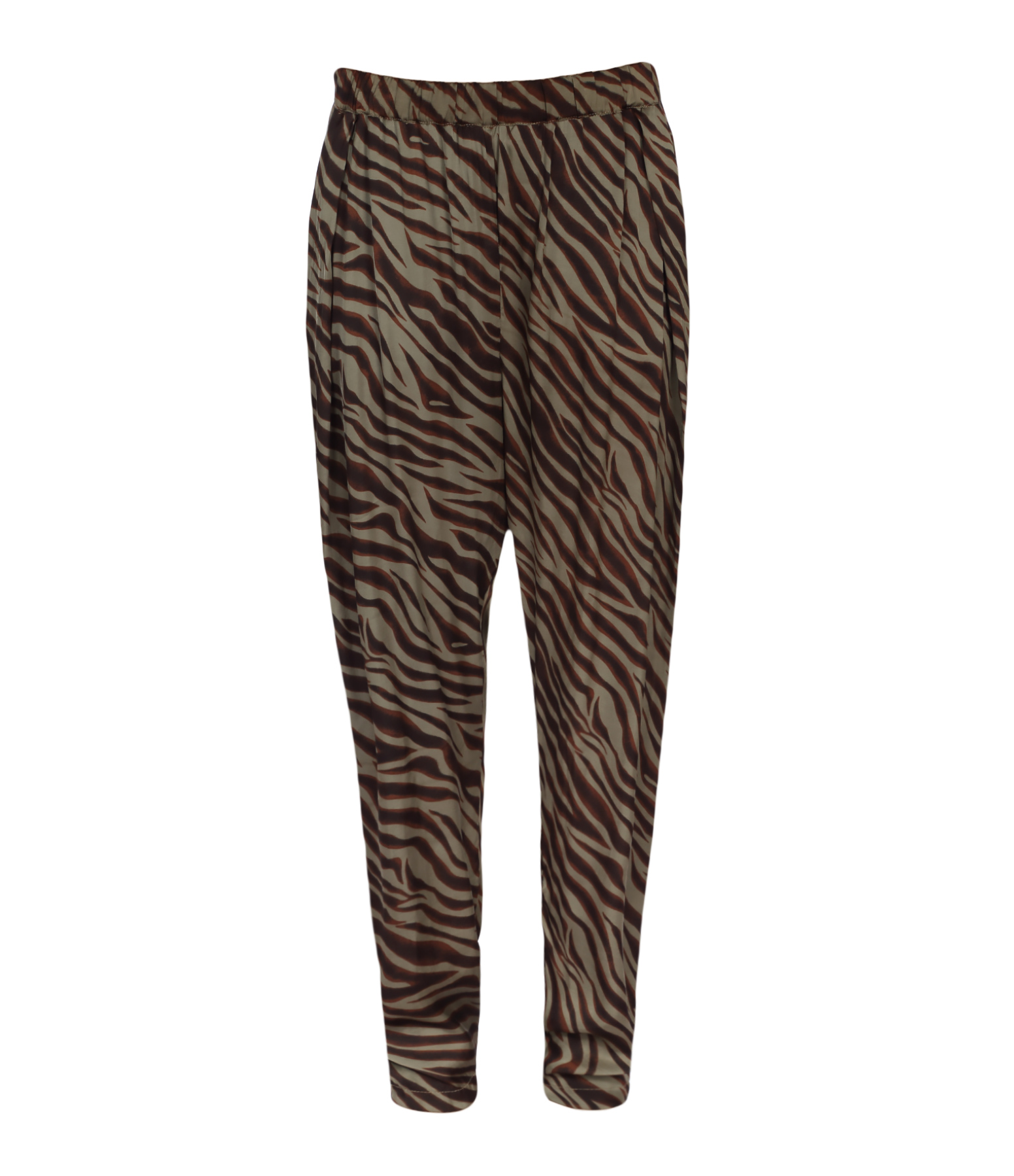Pantalon Chloé Zebra Aluminium Brown