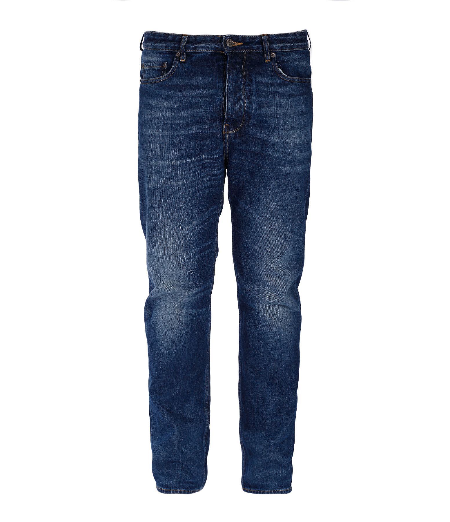 Jean Homme Golden Happy Blue Washed