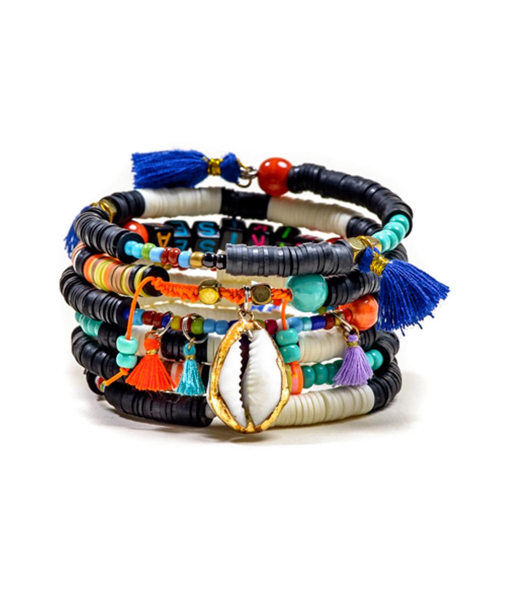 Bracelet Multi Magic Noir