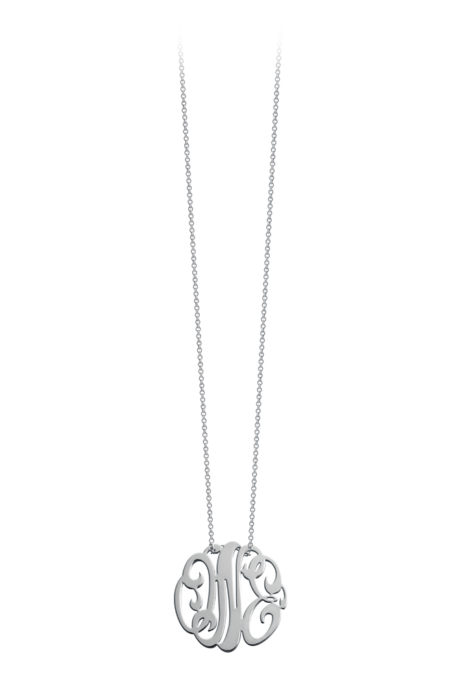 Collier Baby Monogramme One 50cm
