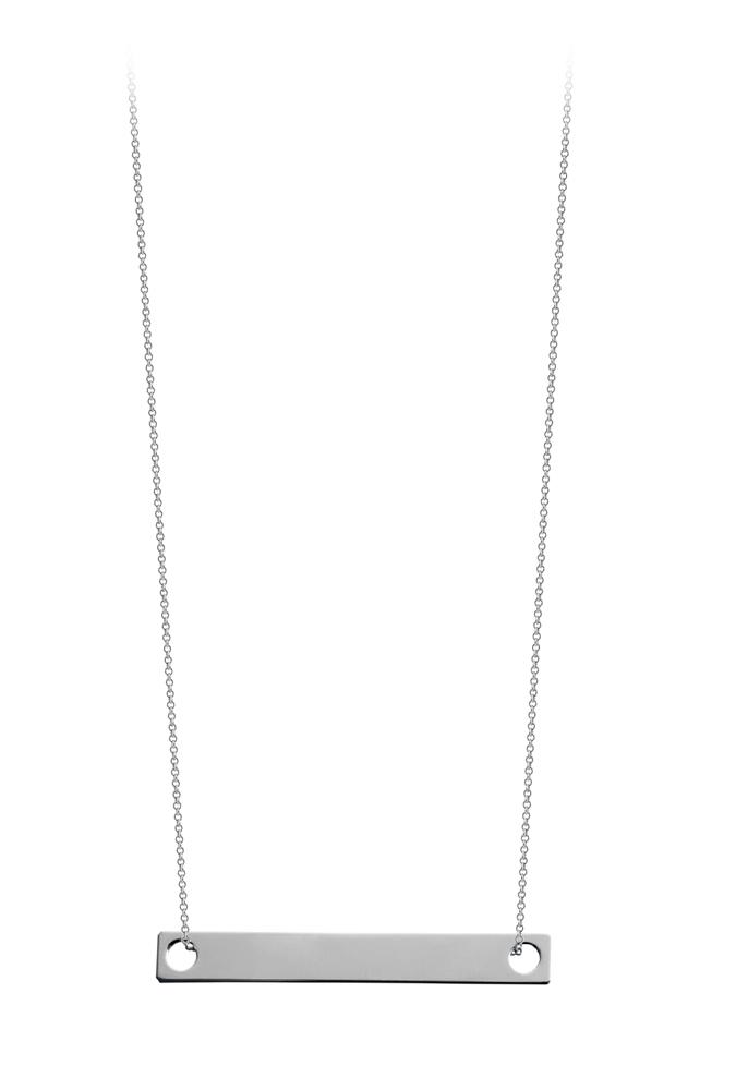 Collier Baby Baguette sur chaîne 50cm