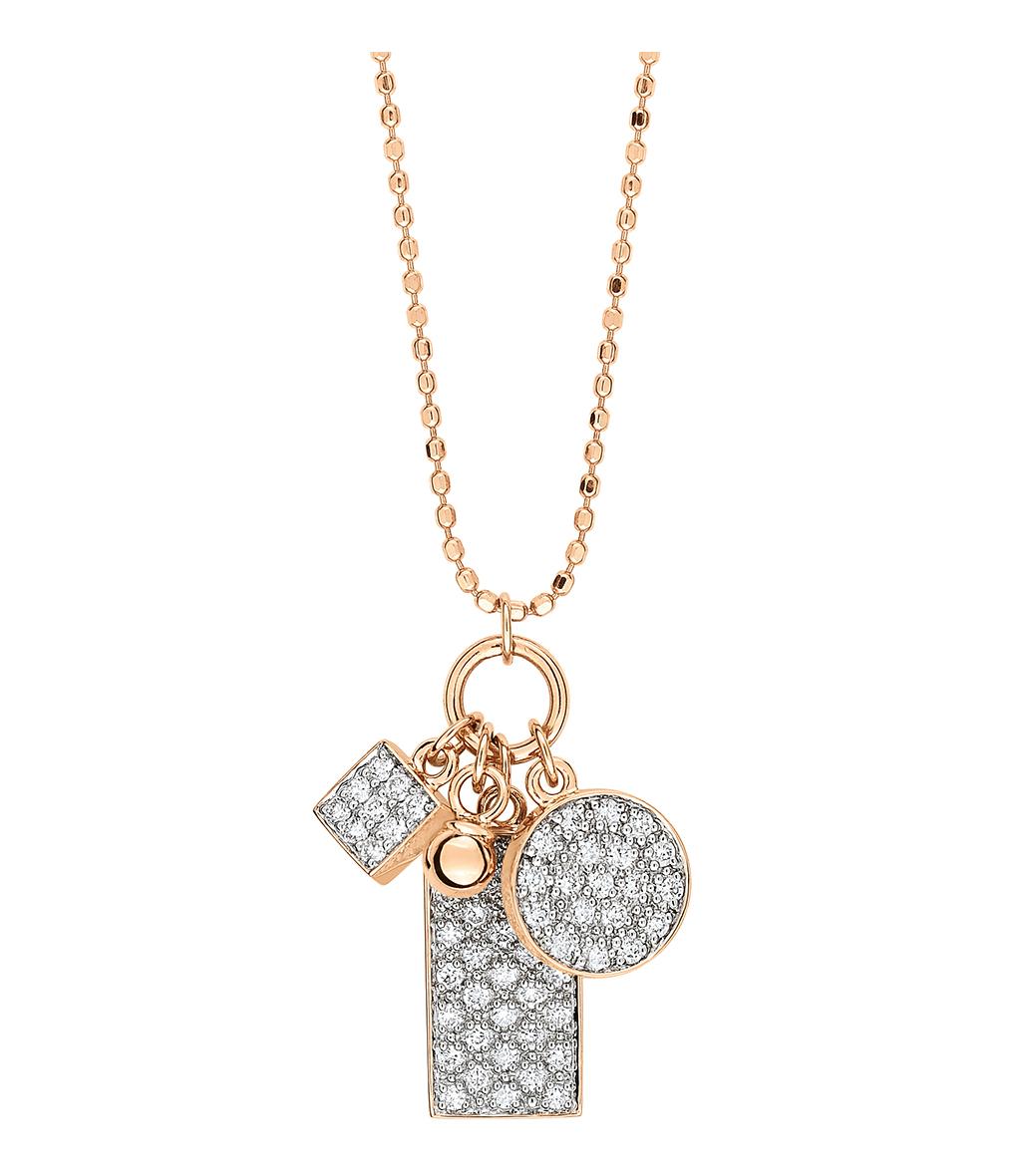 Collier Mini Ever Charms Diamants