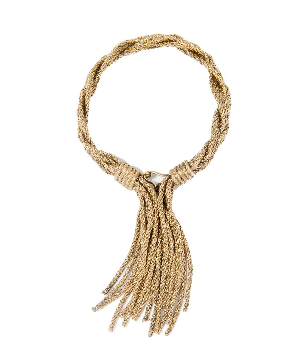 Bracelet Miki Tresse Gold