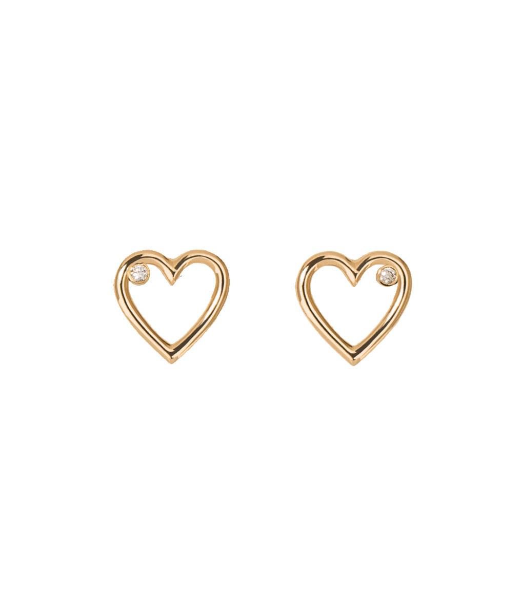 BO Mini Charms Coeur Diamants