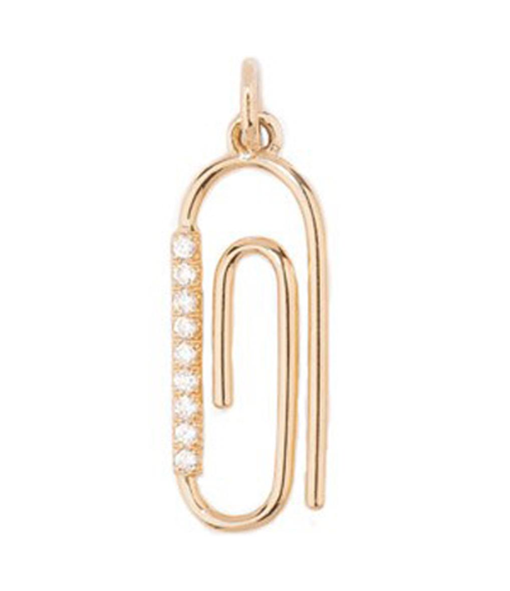 Pendentif Trombone Diamants