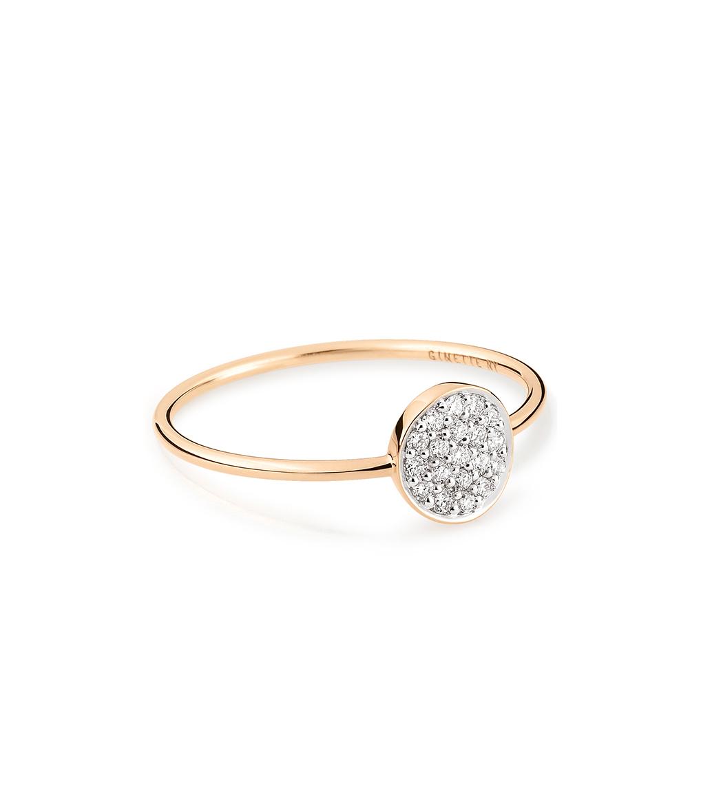 Bague Mini Ever Mini Disc Diamants