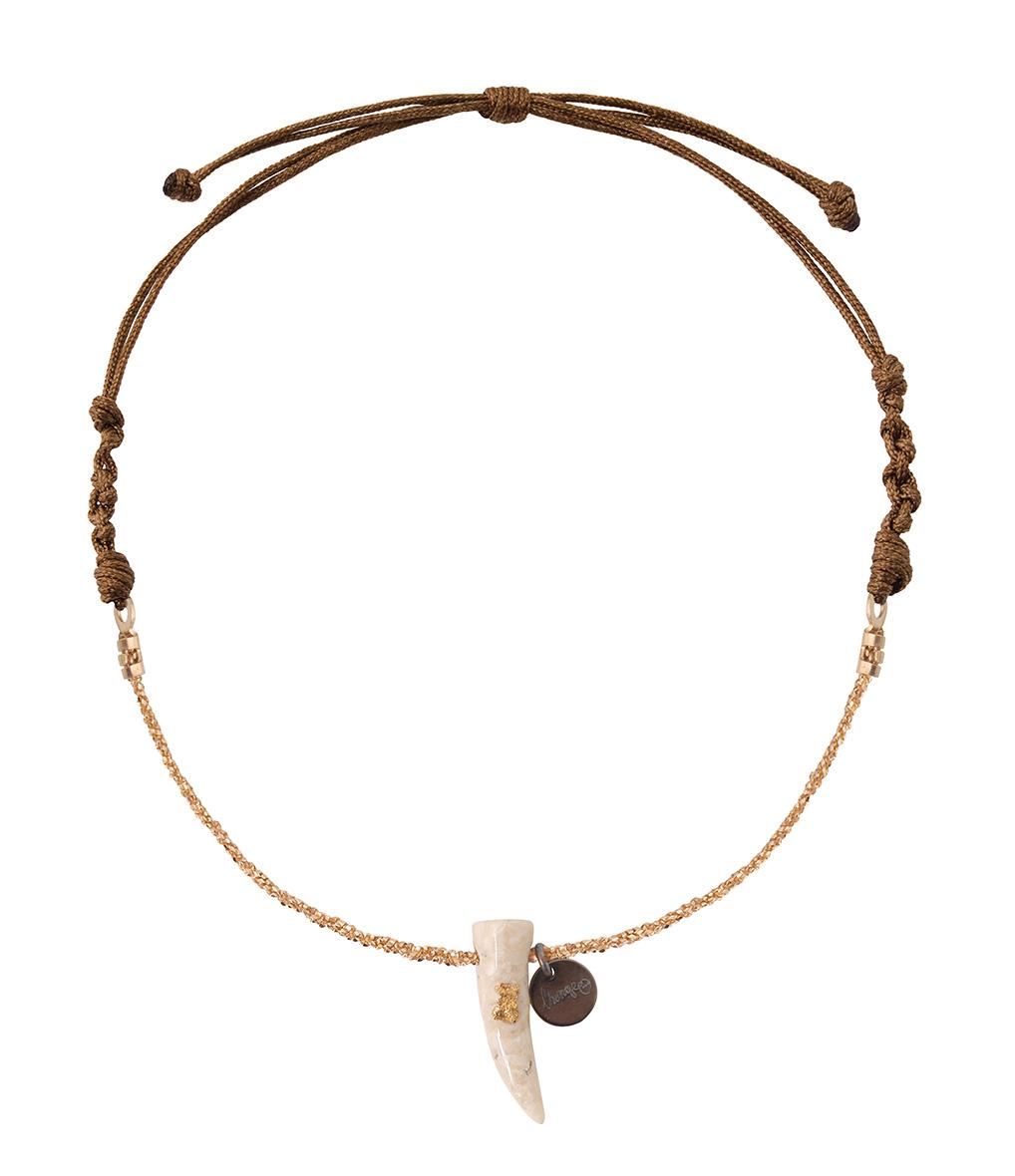Bracelet Chaîne/Cordon Corne Riverstone