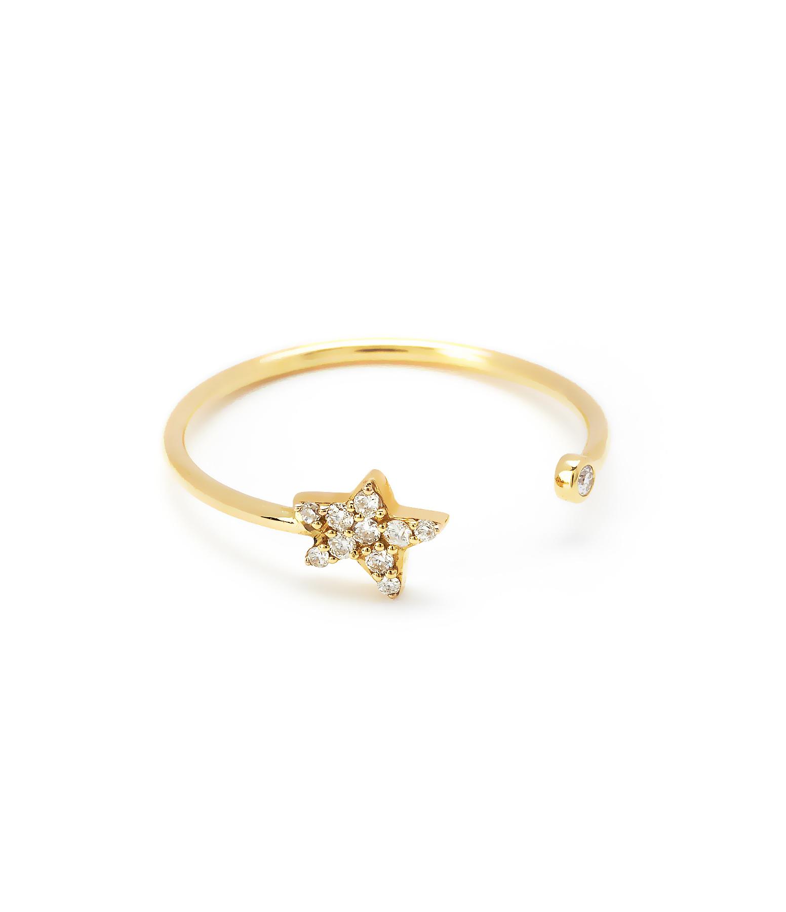 Bague Eternel Etoile Diamants 18K