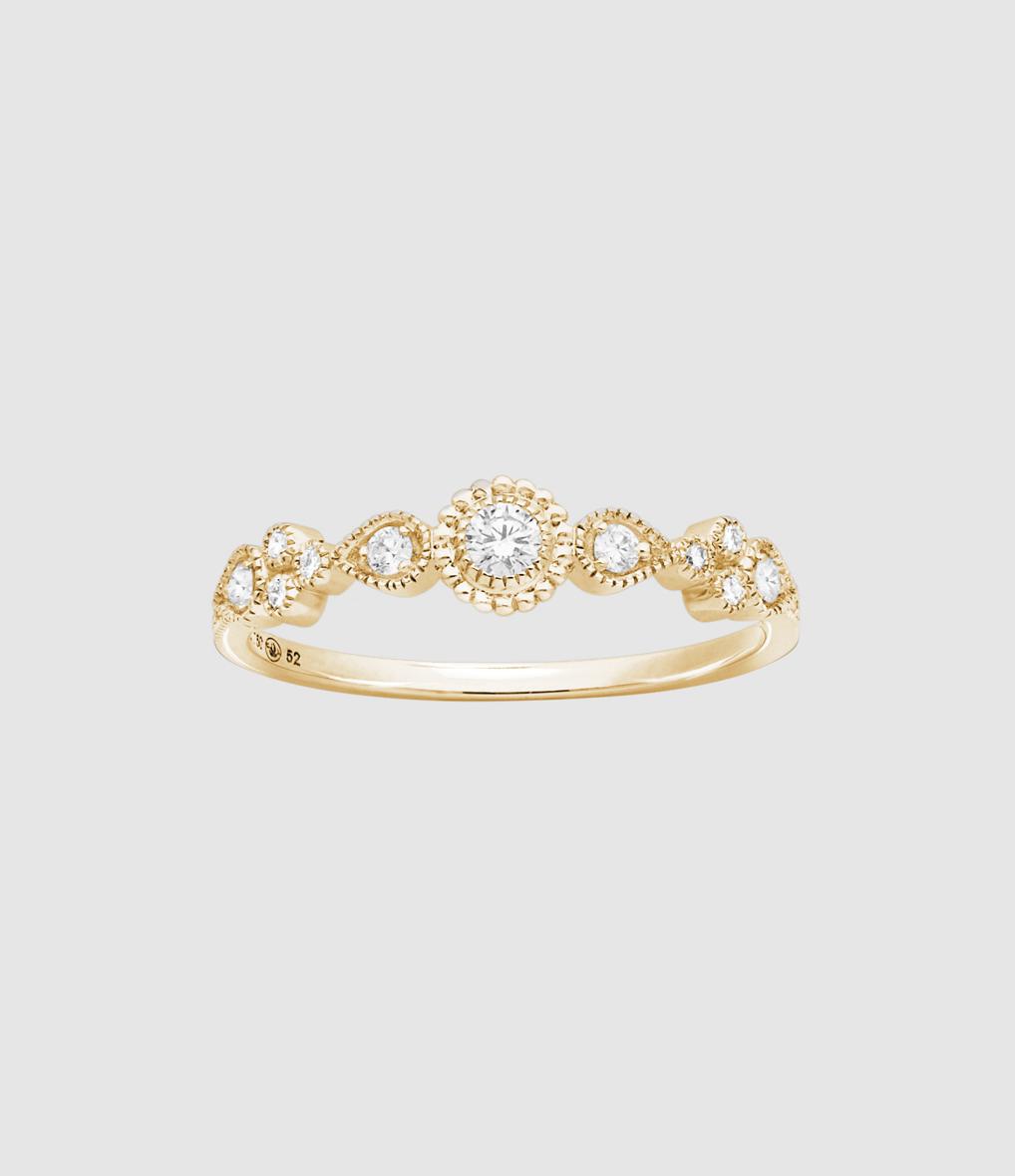 Bague Simple Swan Diamants