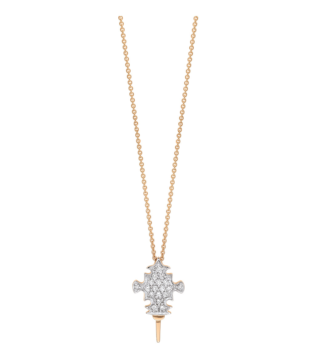 Collier Tanger Or Diamants