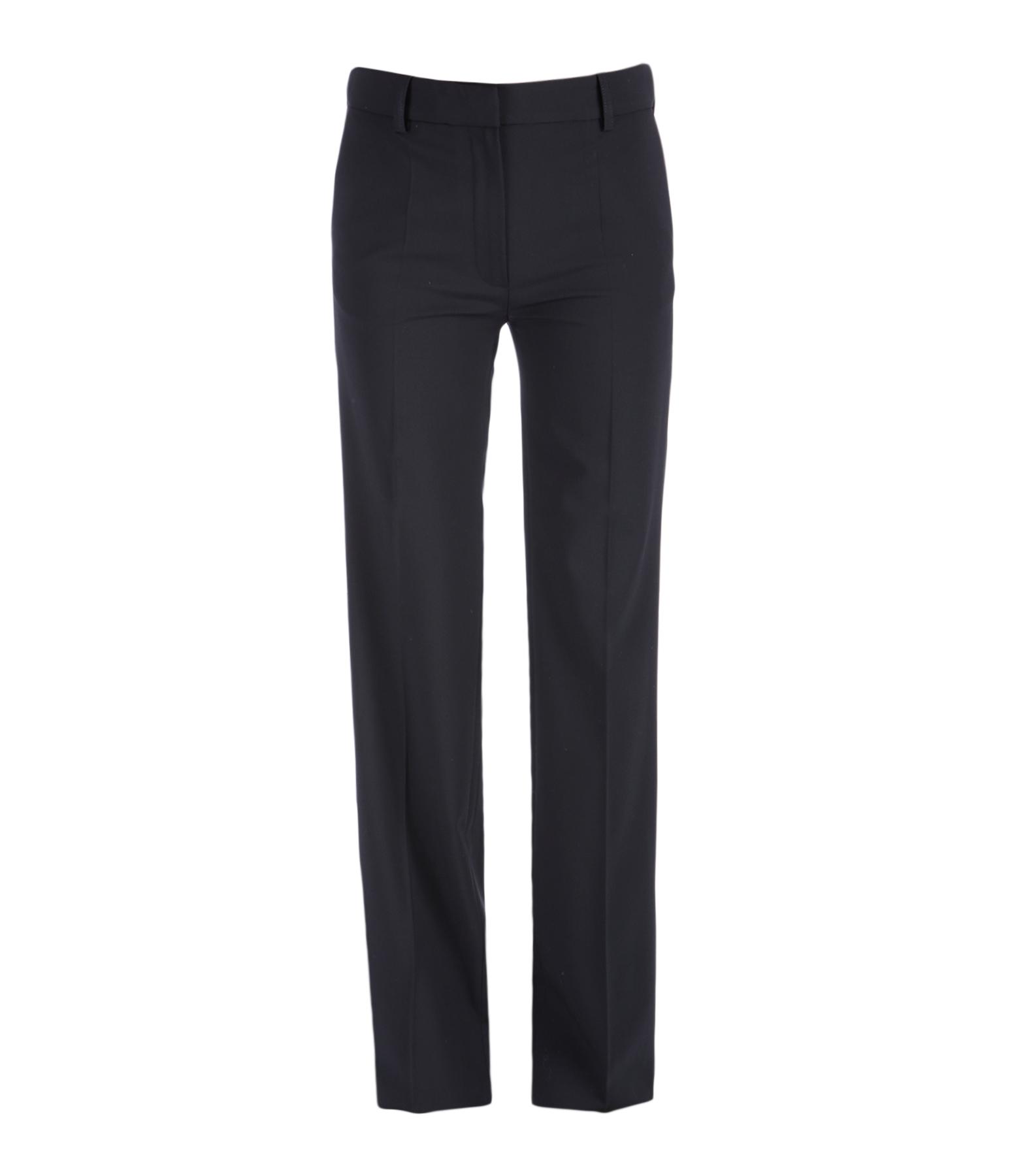 Pantalon Gauvain Laine Noir