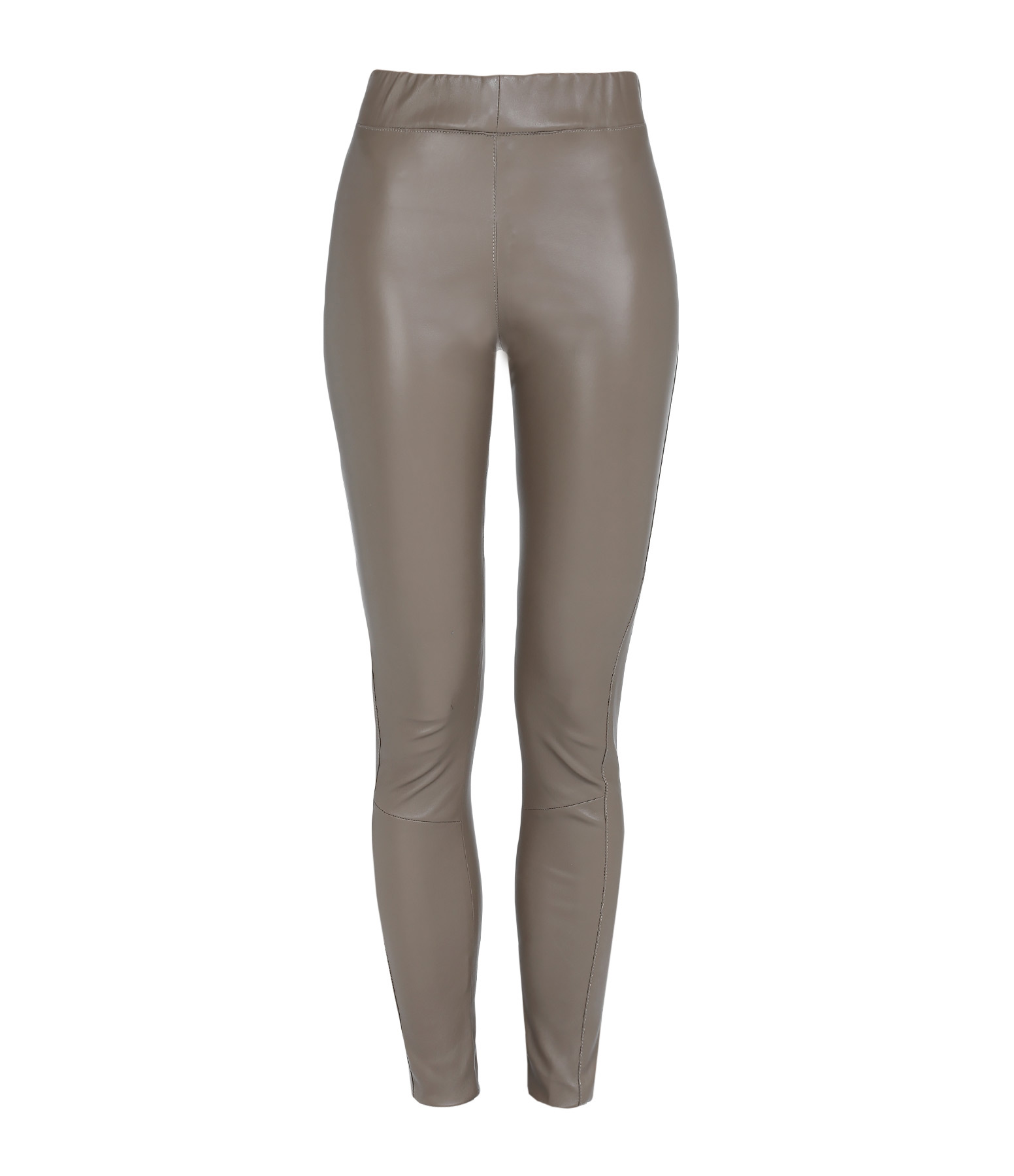 Pantalon Jegging Java Agneau Stretch Taupe