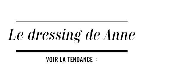 Le dressing de Anne